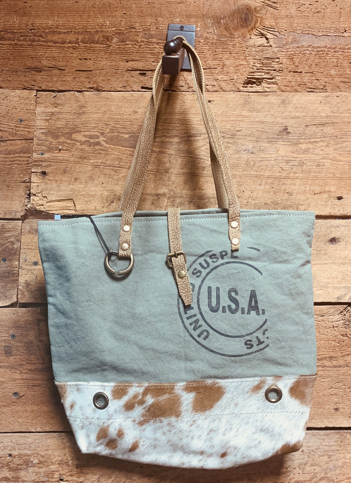 Myra USA Stamp Tote Bag 1294