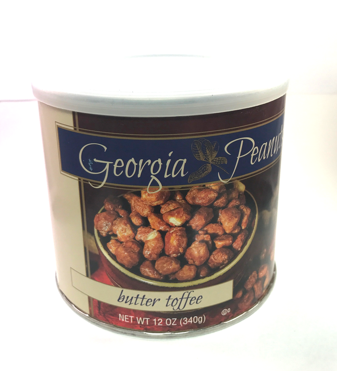 11 oz can Georgia Butter Toffee Peanuts