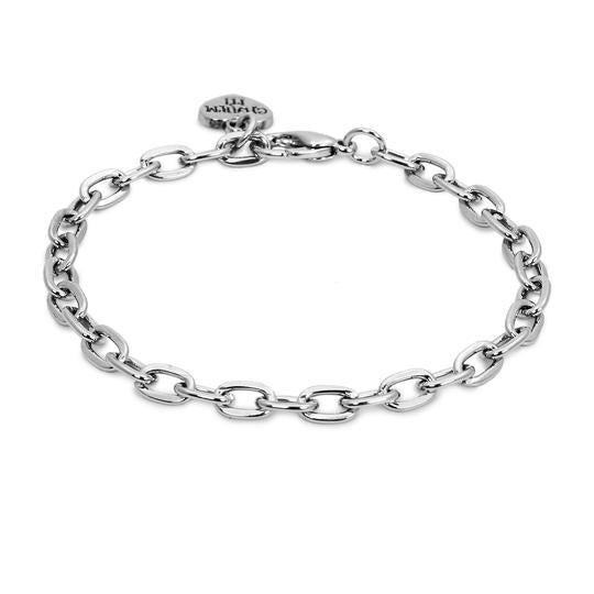 Charm It Charms Silver Chain Link Bracelet