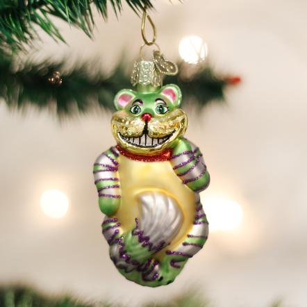 Old World Christmas Cheshire Cat Ornament