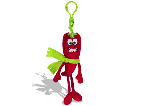 Whiffer Sniffer Chilly Pepper Backpack Clip