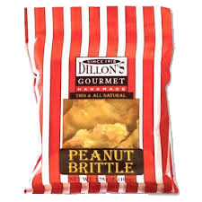 Dillons Peanut Brittle Candy