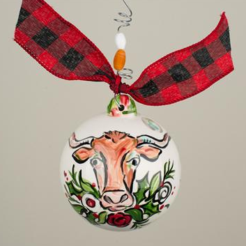 Glory Haus Longhorn Christmas Ornament