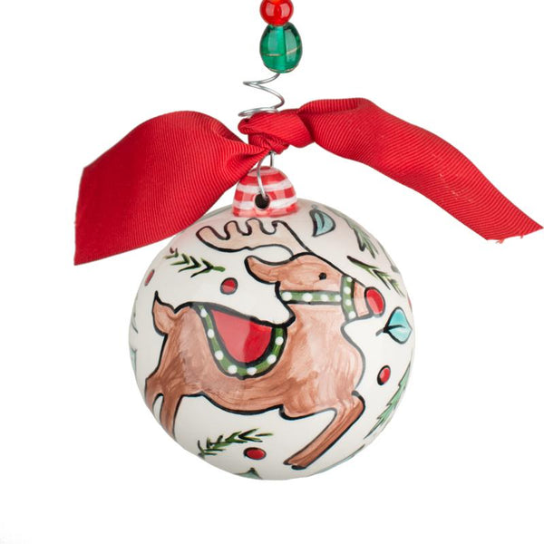 Glory Haus Dashing Through the Snow Christmas Ornament