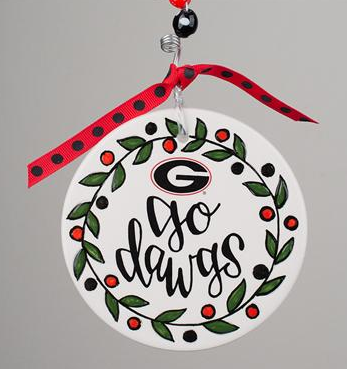 Christmas Ornaments Tagged Georgia Bulldogs Ornament Southern