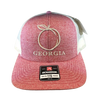 Heritage Pride Georgia Peach Hat Heather Red