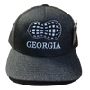 Heritage Pride Georgia Peanut Hat Heather Black