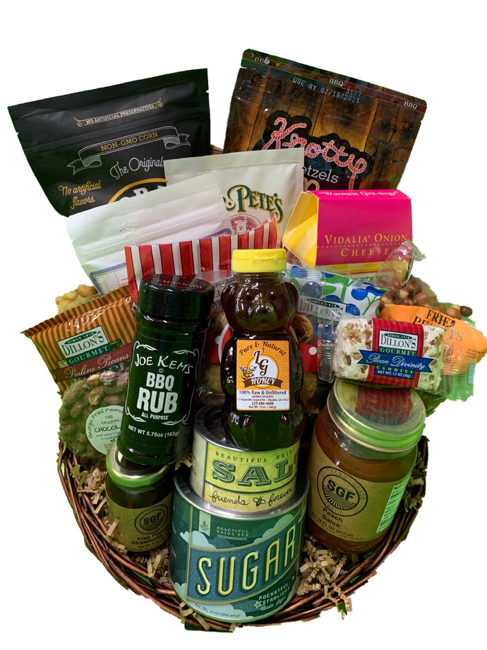 Greetings from Georgia Gift Basket