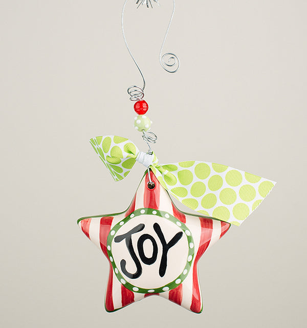 Glory Haus Joy Star Christmas Ornament