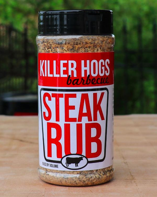 Killer Hogs Steak Rub, 16oz