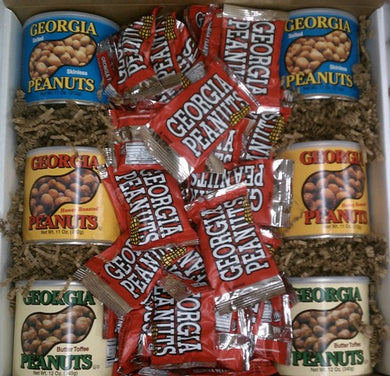 Large Georgia Peanut Gift Box