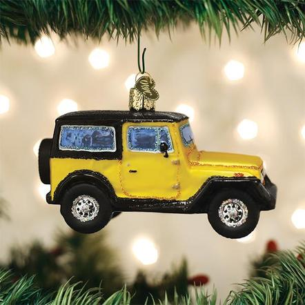 Old World Christmas Sport Utility Ornament