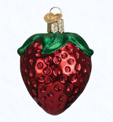 Old World Christmas Strawberry Ornament