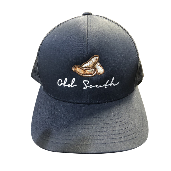 Old South Peanut Trucker Mesh Hat Navy