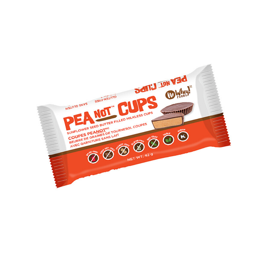 PeaNot Cups Chocolate Gluten Free Snack