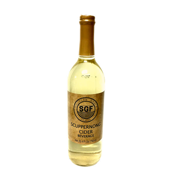 750ml Non-Alcoholic Scuppernong Cider