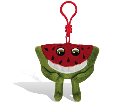 Whiffer Sniffer Milton Melon Watermelon Backpack Clip