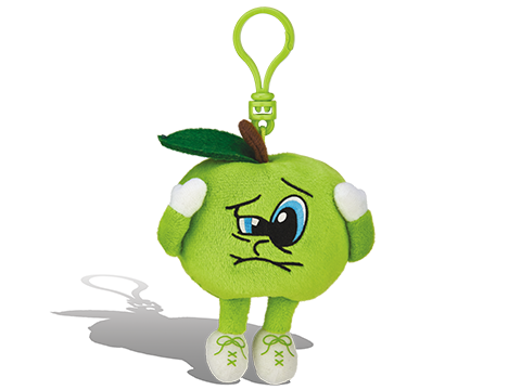 Whiffer Sniffer Sour Saul Green Apple Backpack Clip