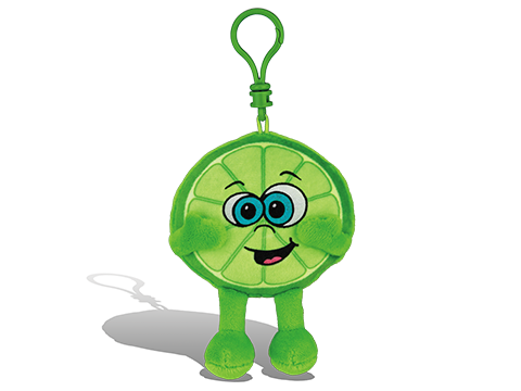 Whiffer Sniffer Louie Lime Backpack Clip