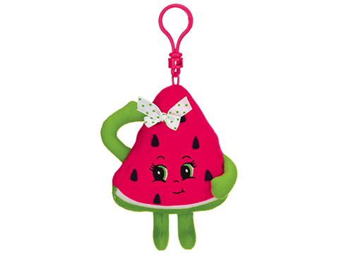 Whiffer Sniffer Summer Slice Pink Watermelon Backpack Clip
