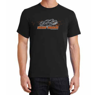 Attitude Industries Black, Short Sleeve, T-Shirt