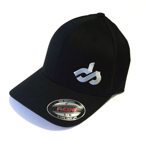Dirt Smash Black Silver Logo Hat
