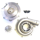 EightySixd Ford 6.0L 59mm Turbo Upgrade - Stage 0.5 - 11 Blade Billet Wheel