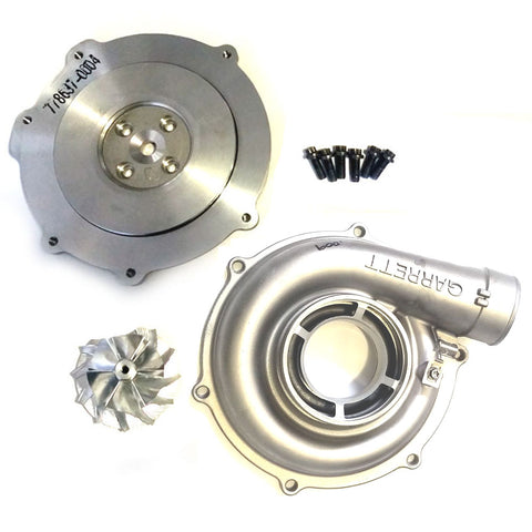 EightySixd Ford 6.0L 64mm Turbo Upgrade Billet Wheel 6x6 Blade