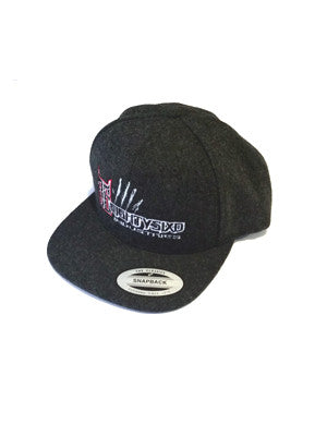 EightySixd Wool Snap Back Hat Side View