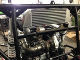 K&T Performance Polaris RZR 1000 Turbo Kit Installed
