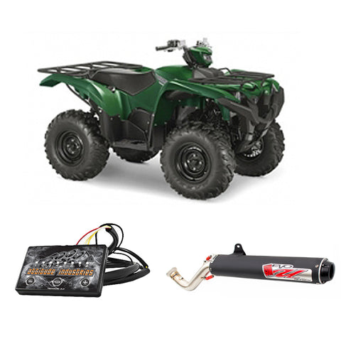 Yamaha Grizzly 700 2007-2014 - Stage 1 - Big Gun Exhaust + Attitude Fuel Controller