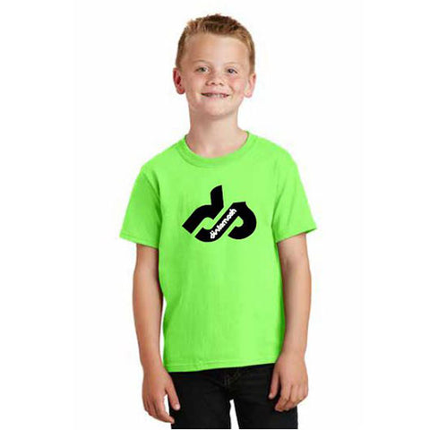 Dirt Smash Green Youth Shirt | Youth Racing Event Sponsorship