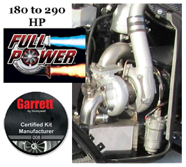Full Power SKI-DOO 2009-2014 E-TEC 800R Trail Turbo Kit