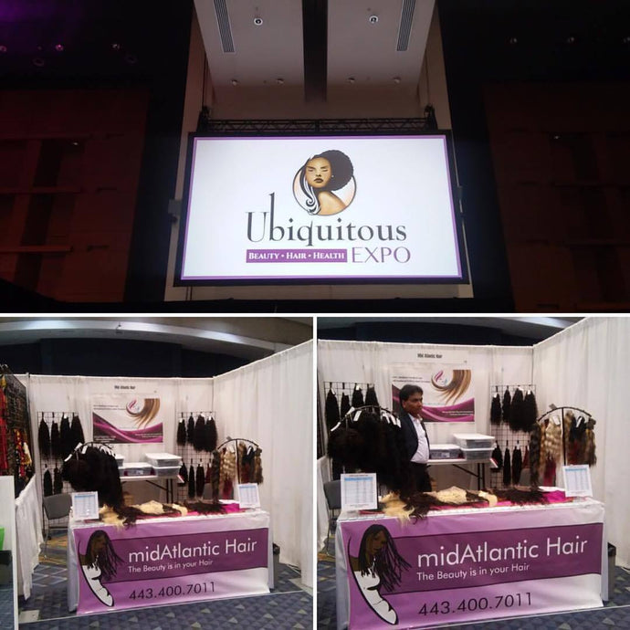 midAtlantic Hair Booth #713 at Ubiquitous Beauty | Hair Expo 2017 is the perfect destination for a Girl's Weekend!!