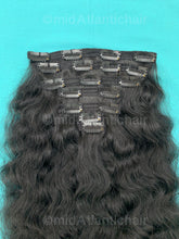 Virgin Indian Curly Hair Clip-in Extensions