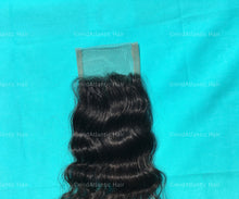 Virgin Indian Hair Curly Lace Closure