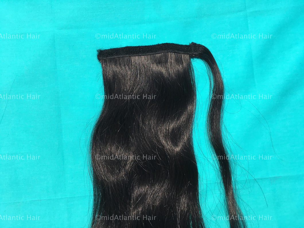 Virgin Indian Hair  Straight  Ponytail