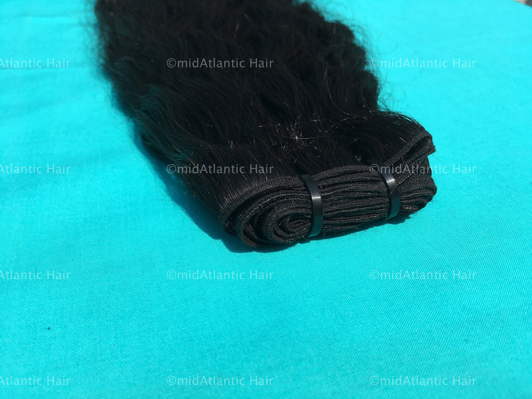 Virgin Indian Wavy Weft