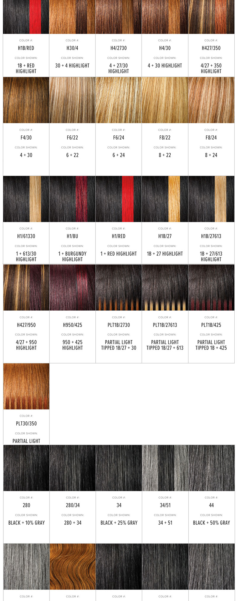 Outre Color Chart Newyorkhairmall