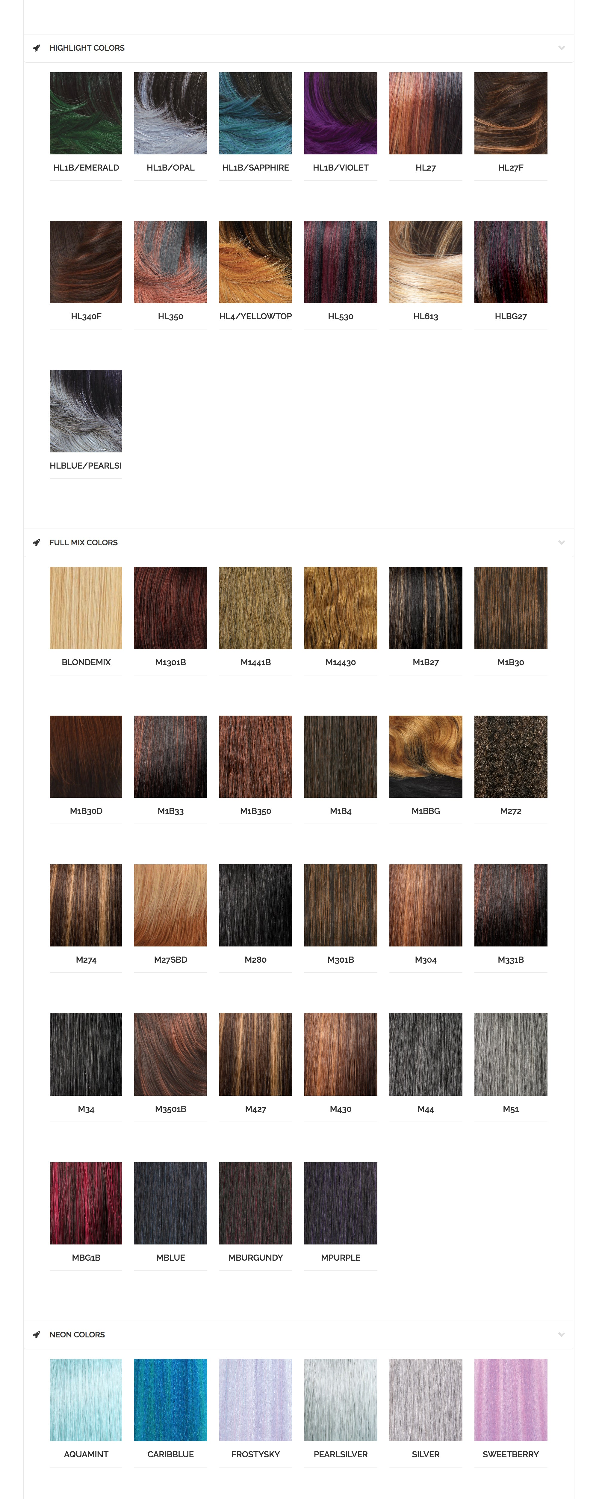 Sensationnel Color Chart Newyorkhairmall