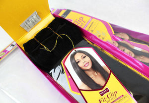Janet Collection Remy Clip in Magic Yaky Fit-Clip 8pcs
