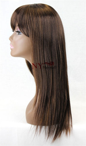 Shine Miracle Superior Quality 3/4 Wig Happyday