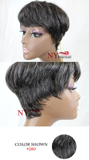 Soul Tress Human Hair Full Wig Cute
