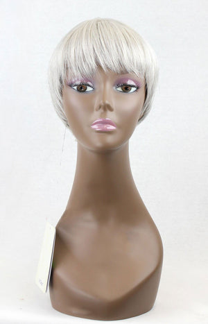 It Tress Human Hair Full Wig - Miko