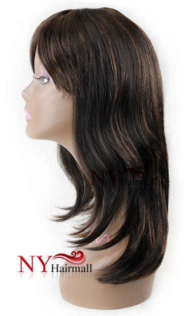 Nix & Nox 100% Human Virgin Indian Remy Wig - Indian 01