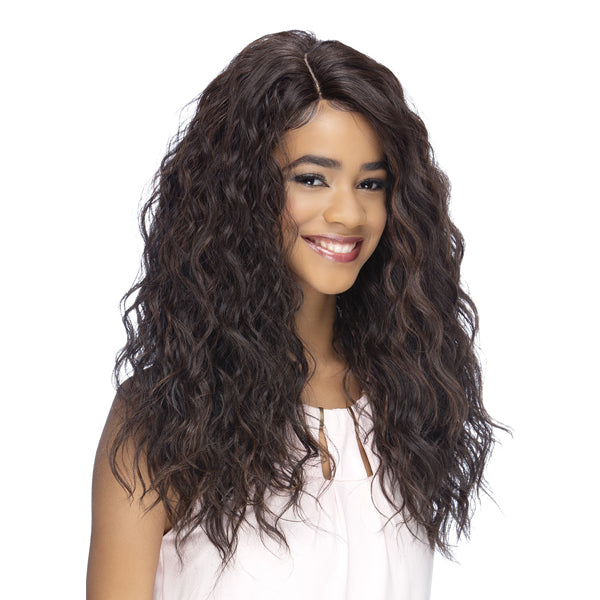 Vivica A Fox Invisible Part Swiss Lace Front Wig - LINA