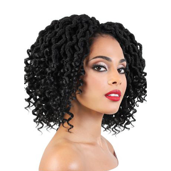 "Motown Tress True 4X Curly Goddess Locs 9"" - CCG.9M"