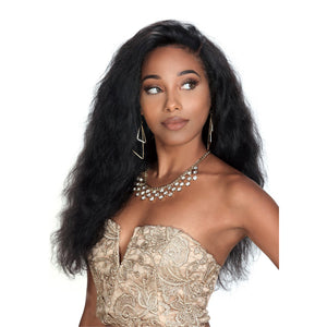 Zury Hollywood Sis 100% Brazilian Remy Human Hair Lace Front Wig - VIRGO