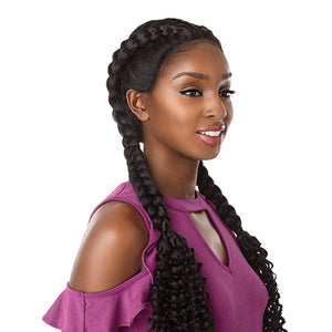 Sensationnel Cloud9 Swiss Lace Front Wig - BOHEMIAN DUTCH BRAID