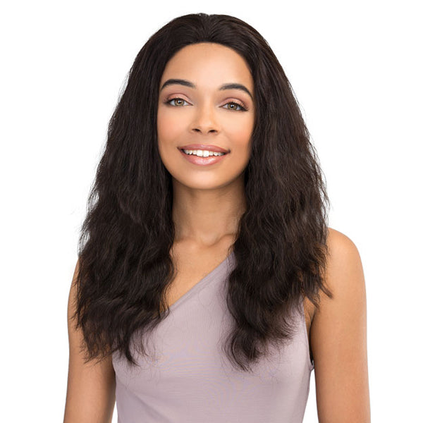 Janet Collection 100% Virgin Remy Hair Lace Front Wig - 360 LACE FRENCH WAVE WIG 18""